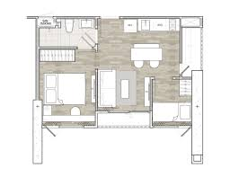 floor plan with scale unit plans