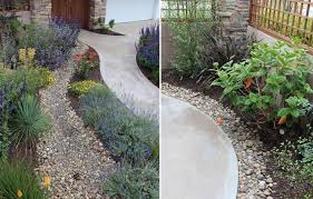 ca friendly gardening solutions the dry river bed encourages run