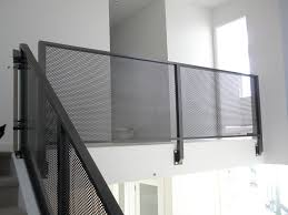 perforated metal railing exterior b a n k s s t pinterest