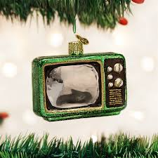 retro tv ornament television ornaments by world