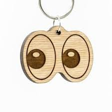 wooden keychains wooden animal footprint keychain walnut wood animal keychain