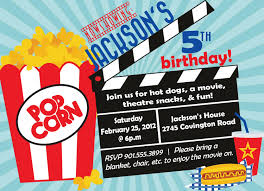movie birthday party invitations u2013 bagvania free printable