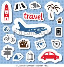 travel stickers images Travel stickers vectors search clip art illustration drawings jpg