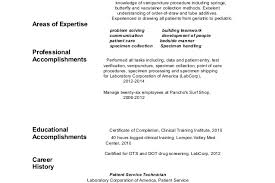 Phlebotomy Resume Sample by Patient Care Technician Resume Cover Letter Phlebotomy Samples