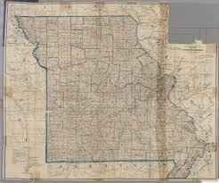 State Of Missouri Map by Maps Of Missouri
