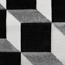 Wohnzimmer Schwarz Grau Rot Designer Teppich Modern Wohnzimmer Teppiche Kurzflor Meliert Rot