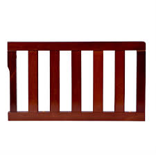 Universal Bed Rail For Convertible Crib On Me Universal Convertible Crib Toddler Guard Rail Cherry