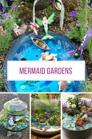 beach themed fairy garden repurposing upcycling and fairy