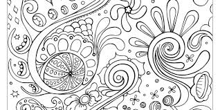 patterns coloring pages