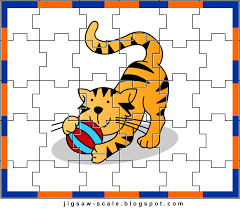 printable jigsaw puzzle for kids cat jigsaw