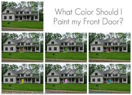 How To Paint An Exterior Door How To Paint A Front Door And My Color Reveal East Coast