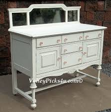 Antique White Buffet Server by Chic Furniture Paint Shabby French Country Shabby Country Chic