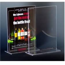 restaurant table top display stands 9 best menu holders images on pinterest menu holders brochures and a4