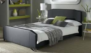 faux bed frameblack faux leather bed frame for beds king size
