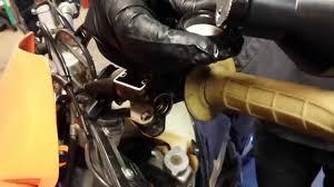 ktm clutch master cylinder rebuild lhrb youtube