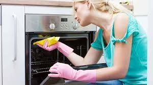clean oven glass door oven cleaning and maintenance kitchen