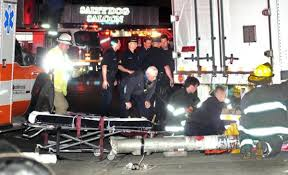 woman dies after being struck pinned by tractor trailer necn