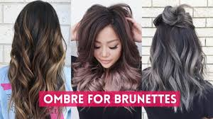ambra hair color ombre hair color for brunettes tutorials best hair