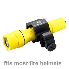 Fire Helmet Lights Polytac Flashlight Helmet Bracket 88854