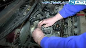 how to install replace engine ignition coil 2001 05 vw jetta youtube