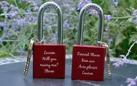 lock itz a unique memorable wedding gift groomsadvice