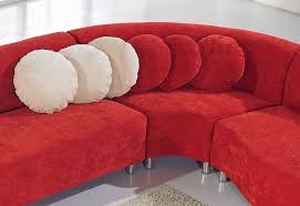 The Red Sofa The Red Modern Fabric Sectional Sofa