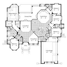 6 bedroom floor plans montellano 6427 6 bedrooms and 5 5 baths the house designers