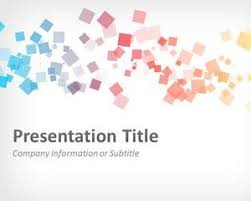 abstract squares powerpoint template prezentacje pinterest
