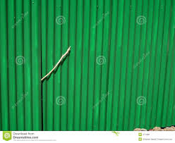 green corrugated fencing royalty free stock photos image 471488