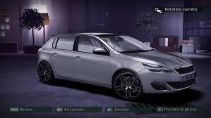 peugeot purple need for speed carbon peugeot 308 nfscars