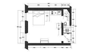 plan chambre rénovation d un petit espace comme une chambre d hôtel