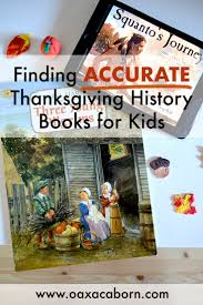 finding accurate thanksgiving history books for the