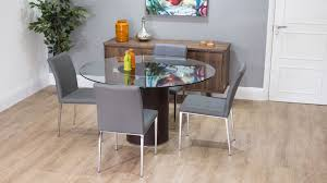 modern glass dining table quilted modern glass dining table quilted faux leather dining