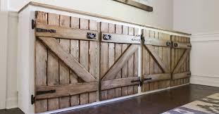 Barnwood Kitchen Cabinets Upcycled Barnwood Style Cabinet Hometalk