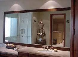Cermin Brown model desain kaca cermin kamar mandi desain kamar mandi