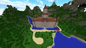 Castle Maps For Minecraft Peach U0027s Castle Made In Minecraft Dv8gaming