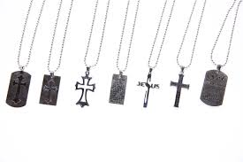 steel cross necklace images Pewter stainless steel cross necklaces project hope jpg