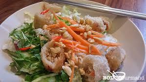 cuisine chinoise facile bun nem facile recette vermicelle de riz bo bun recette