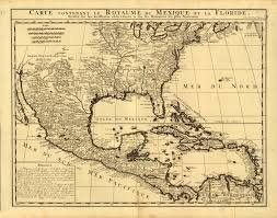 Mexico Map 1800 Florida Memory Map Of Mexico And Florida C 1750