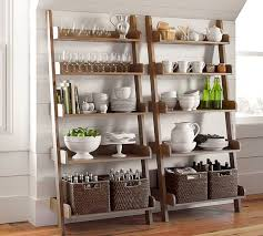 pottery barn studio wall shelf pottery barn