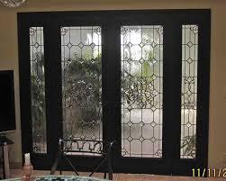 glass doors designs bevel clusters entry ii glass door inserts sans soucie