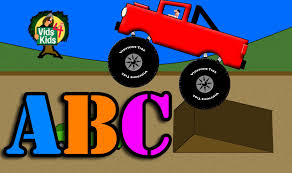 monster truck videos kids youtube monster truck alphabet abcs for kids youtube
