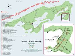 abaco resort map abaco estate services map of green turtle cay abaco bahamas