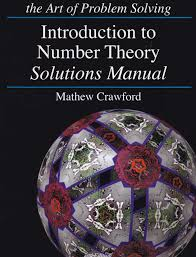 introduction to number theory text and solution manuals art of