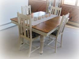my shabby chateau vintage dining table u0026 chairs redo