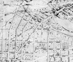 Ann Arbor Michigan Map by Damn Arbor 1853 Map Of Ann Arbor From Moaa Also Lost Street Names