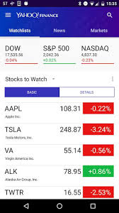 yahoo apps for android yahoo finance install android apps cafe bazaar