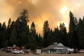 Wildfire Parks Canada by Wildfires Menace Yosemite Glacier Parks