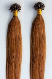 Light Brown Hair Extensions Solid Color U Tip Nail Hair Extensions Archives Hair Faux You