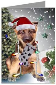dog christmas cards german shepherd dog christmas cards ornaments